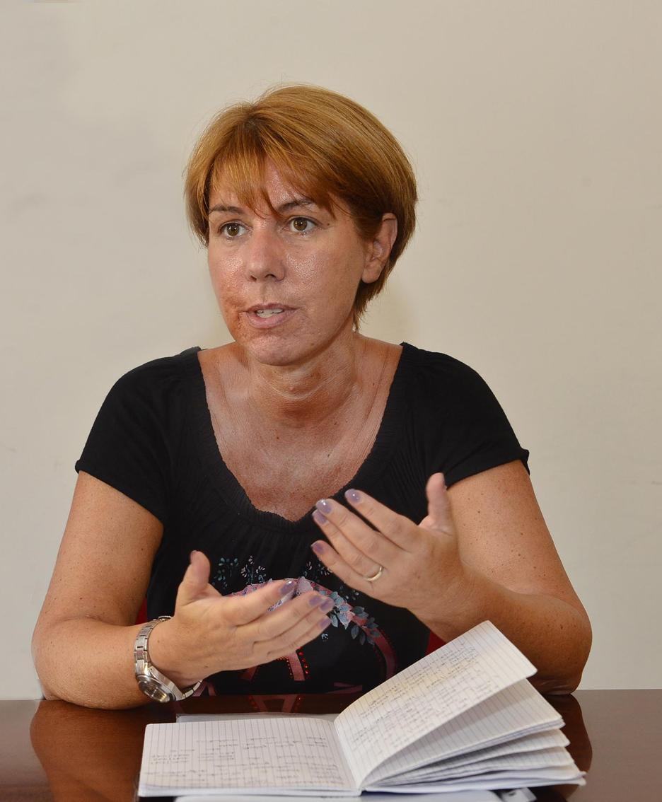 L'assessore Giusy Molinari