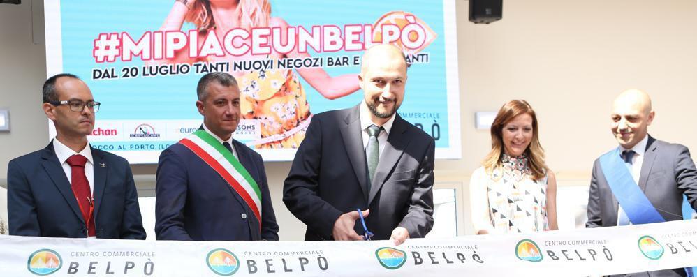 San Rocco, inaugurato il nuovo centro commerciale Belpò