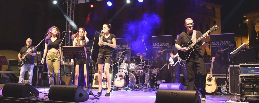 L'omaggio a Lodi dell'Uva Rara Band