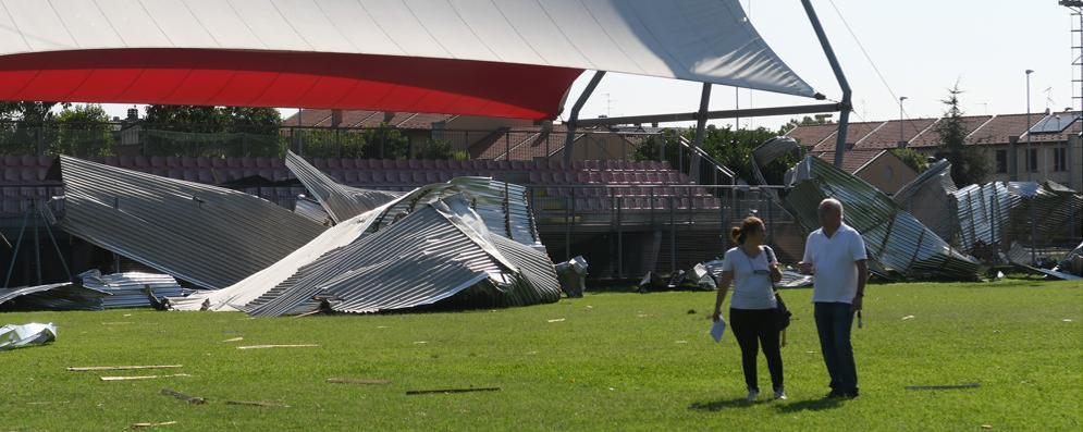 Sudmilano: pesanti danni al centro sportivo di Carpiano