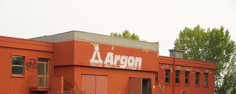 L'ex Argon, simbolo del degrado