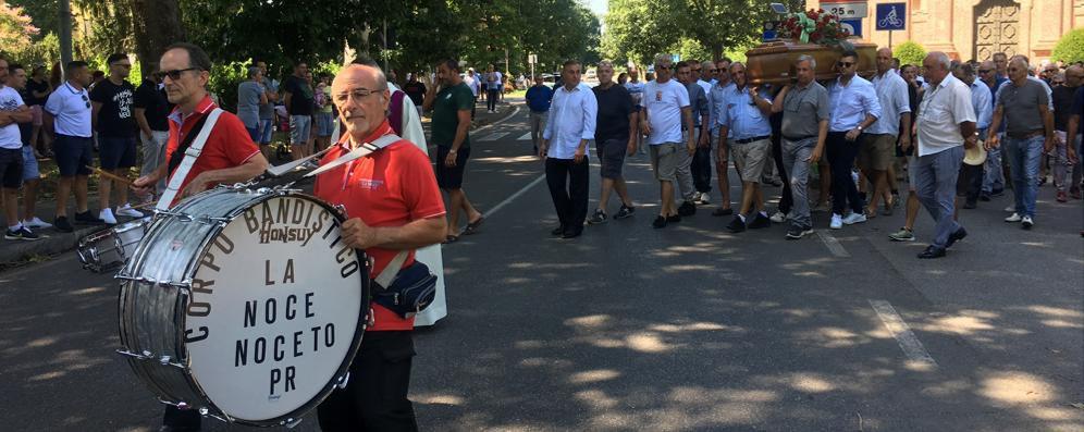 Giostrai e circensi a Codogno per il funerale di Carlo Barbera