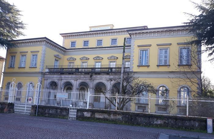 La palazzina Trombini a Melegnano