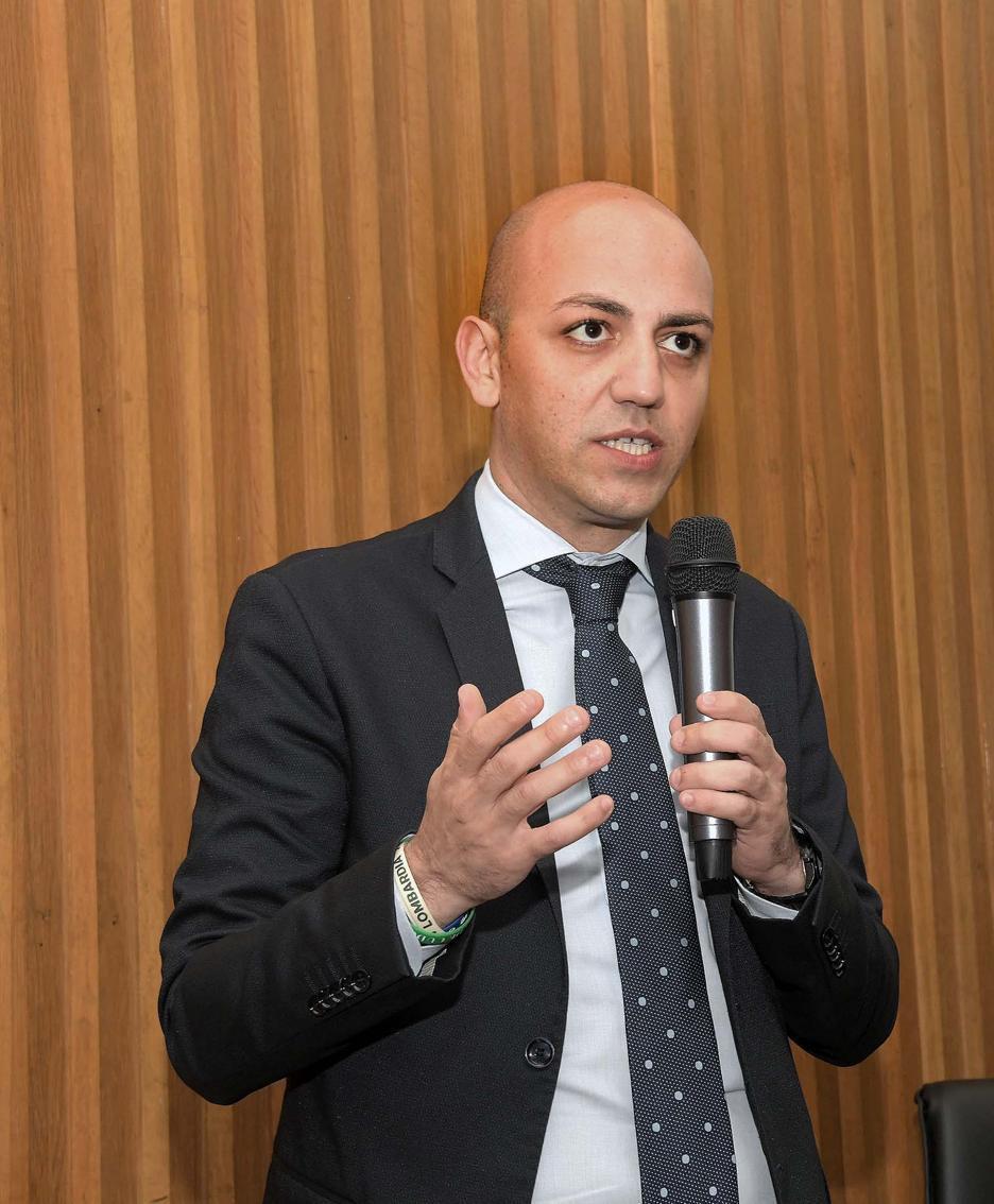 Francesco Passerini, presidente della Provincia