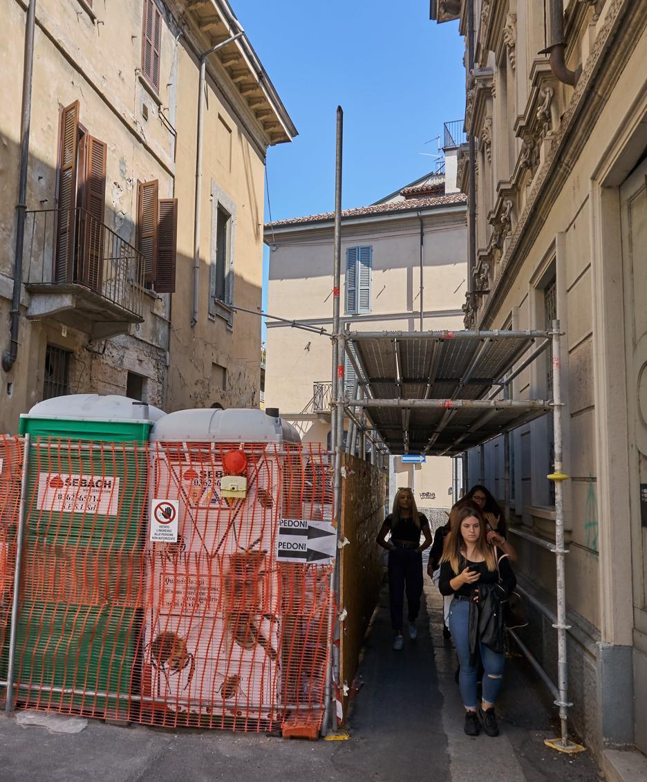 Palazzo Sommariva, niente stop: è impossibile bloccare ora i lavori