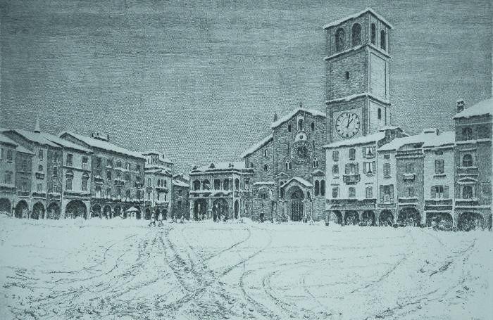 Piazza della Vittoria a Lodi