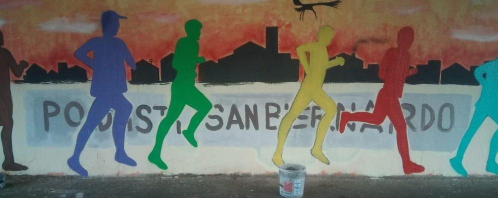 """Un """"murale"""" per la Laus"""