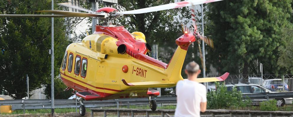San Donato, 29enne ferito: atterra l'elisoccorso
