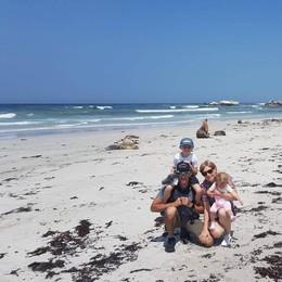Una vacanza tra paure e divieti per una famiglia di Graffignana in Australia