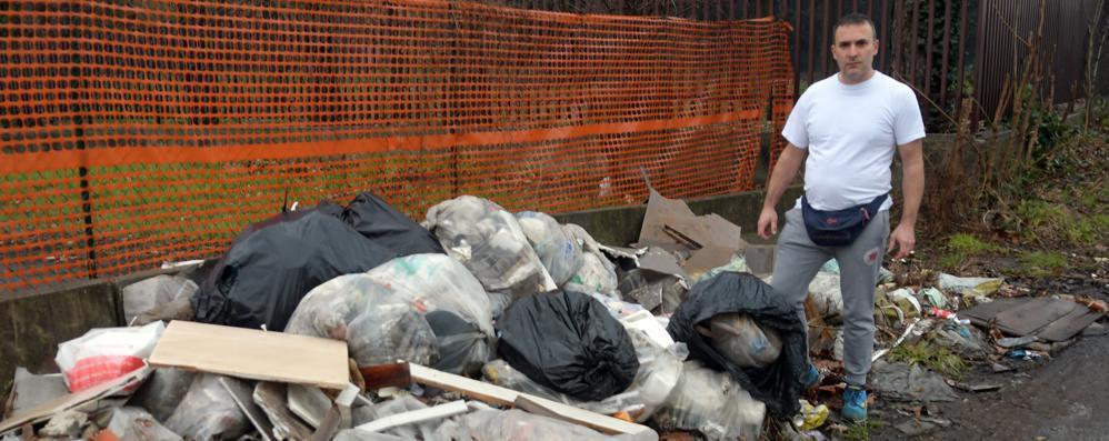 """Scarica rifiuti lungo la Paullese, è caccia all'inquinatore """"seriale"""""""