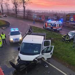 Schianto venerdì mattina  all'ingresso dell'A1, a Ospedaletto un 29enne resta ferito