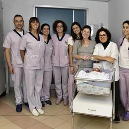Si chiama Mattia il primo nato all'ospedale Maggiore di Lodi