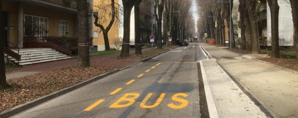 «Strade strette per la ciclabile, bus e camion creano il caos a San Donato»