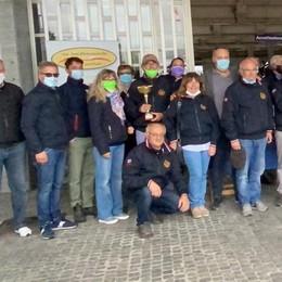 LODI Memorial Castellotti, una parata con 40 auto d'epoca VIDEO