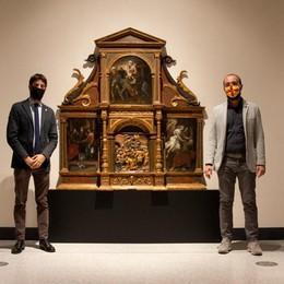 """Il Trittico di San Giuseppe di Callisto Piazza va in """"trasferta"""" a Cremona"""