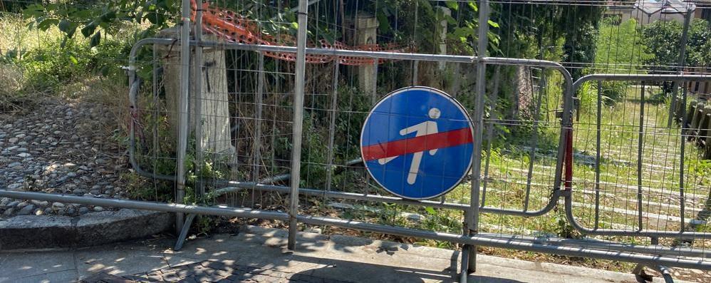 LODI Per la scalinata Federico II la riapertura ora è più vicina