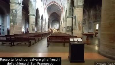 Lodi, solidarietà per salvare gli affreschi