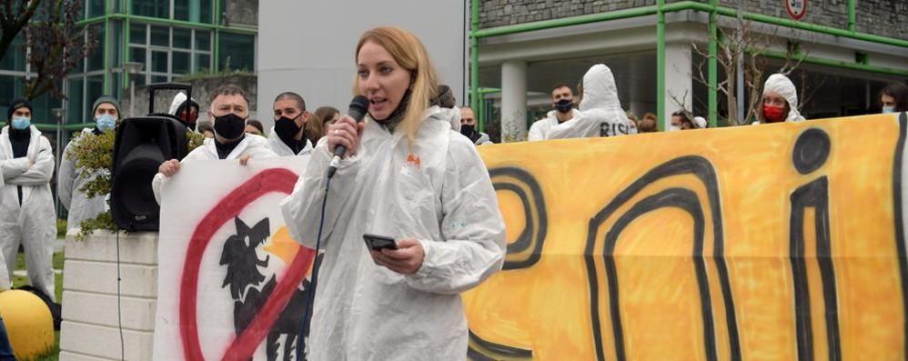 SAN DONATO Da tutta Italia in difesa del clima VIDEO