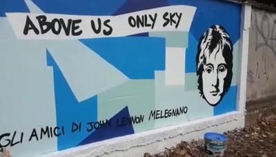 Un murales per Lennon