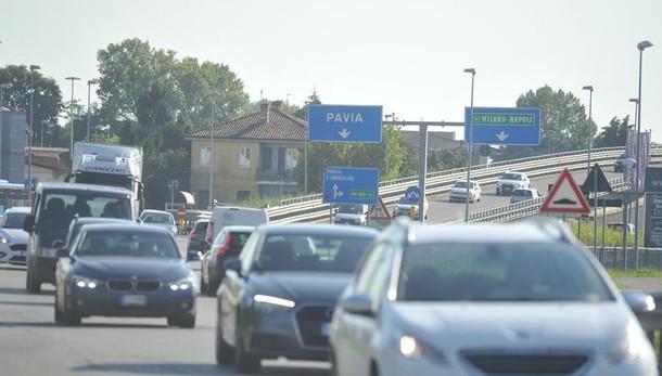 Asfalti sulla 235, da lunedì scattano i lavori tra Lodi e Pieve: dalle 23 alle 5 blocco totale