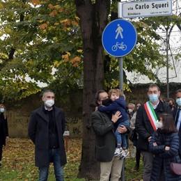 San Donato ricorda con una via l'ex sindaco Carlo Squeri VIDEO