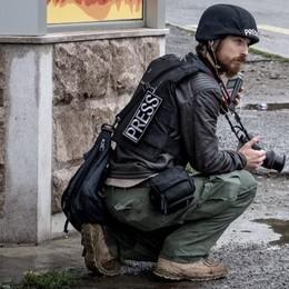 Un reporter di Lodi sotto le bombe nel Nagorno