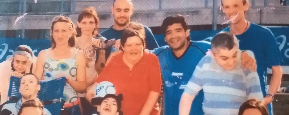 Maradona e la Cooperativa Amicizia,  l'umanità del campione VIDEO