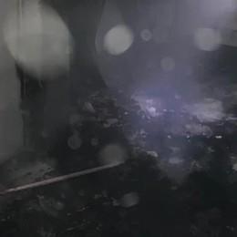 Incendio in un negozio di alimentari, paura nella notte a Caselle Lurani
