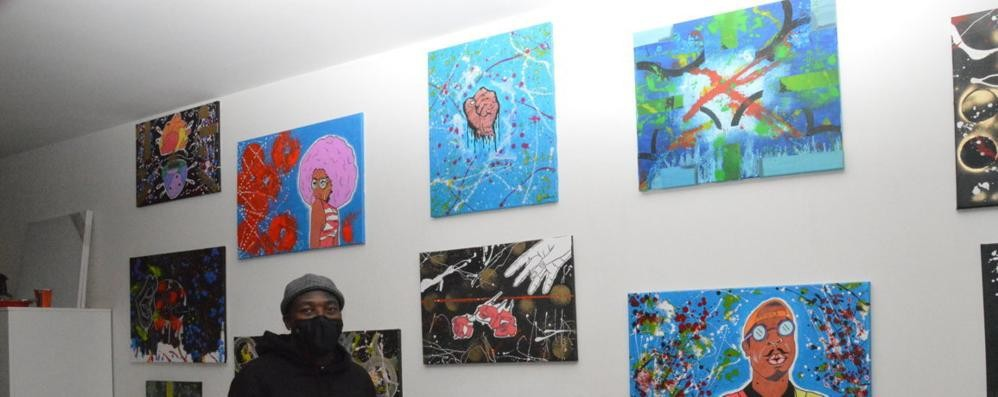 Jared Zamble, il nuovo centravanti-pittore
