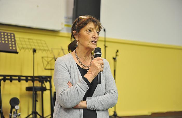 La preside Luciana Tonarelli (foto Paolo Ribolini)