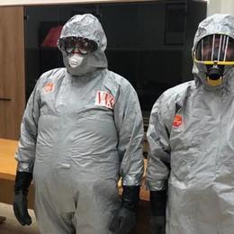 """Rifiuti sanitari infettivi"""" abbandonati all'area di servizio a San Zenone"""