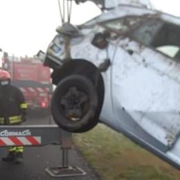 Incidente in Autosole tra Lodi e Casale, quattro feriti per la nebbia - VIDEO
