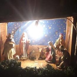 Sfregio a Codogno, rubata la statua del Bambin Gesù