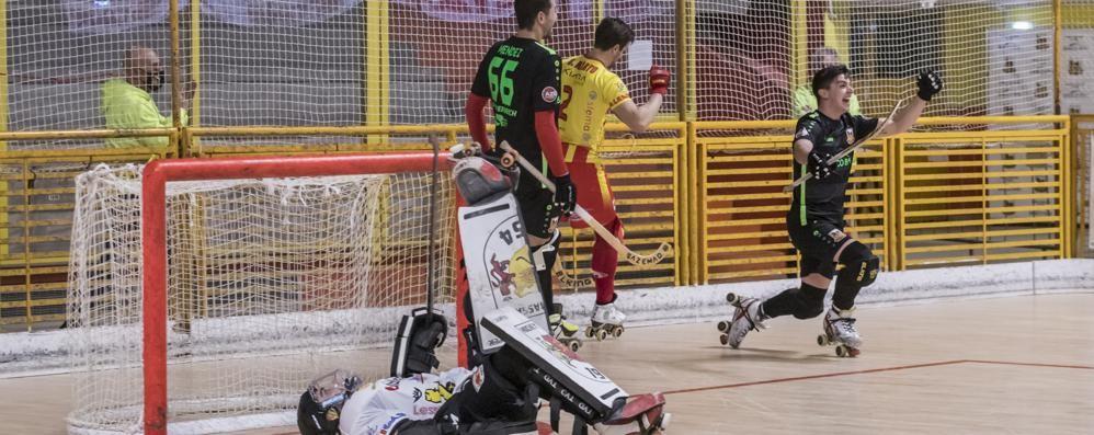 Hockey, l'Amatori fa suo il derby giallorosso