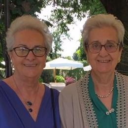 Melegnano, festa a distanza per i 91 anni delle gemelle da record