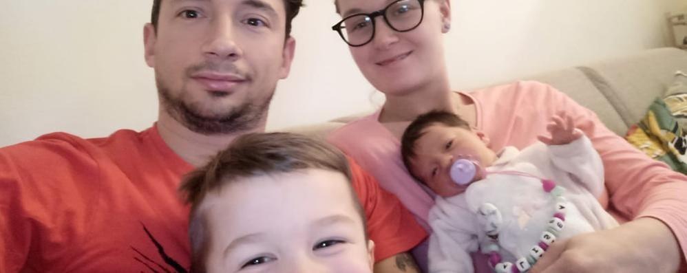 PAULLO Dopo 17 anni un bambino nasce in casa