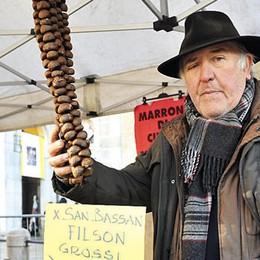 Portava la magia delle castagne in ogni fiera, addio a Filippo Toscani