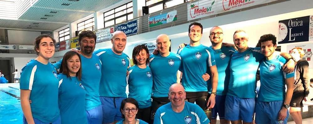 Sporting, 4 podi a Sondrio