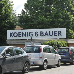 Ancora esuberi, Koenig & Bauer prepara il taglio di 40 lavoratori