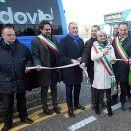 Trasporti, inaugurata a Vizzolo la nuova fermata del Predabissi