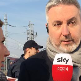 AGGIORNAMENTO - Frecciarossa, il ministro Guerini sul luogo della tragedia - GUARDA IL VIDEO