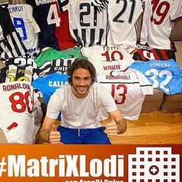 Alessandro Matri mette all'asta le maglie di una carriera per raccogliere fondi