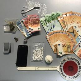 Sorpreso in auto con la cocaina, 44enne di Paullo denunciato per spaccio