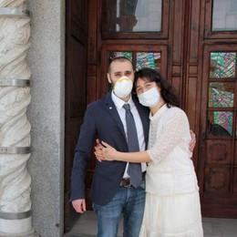 Sposarsi nell'era del Covid: «Mai pensato di rinviare»