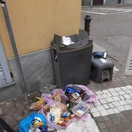 San Colombano, il cibo per le famiglie in difficoltà finisce nella spazzatura