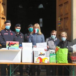 I carabinieri di Borghetto fanno un quintale di spesa per chi ha bisogno