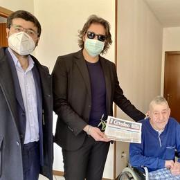 «Il Cittadino» nelle case degli anziani di Caselle Lurani - GUARDA IL VIDEO