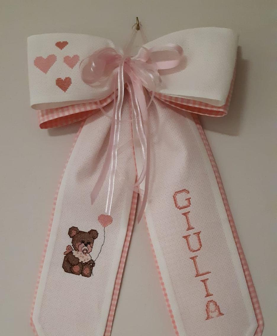 Il fiocco rosa per Giulia