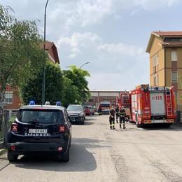 San Colombano, principio di incendio in un'abitazione: due sorelle in ospedale