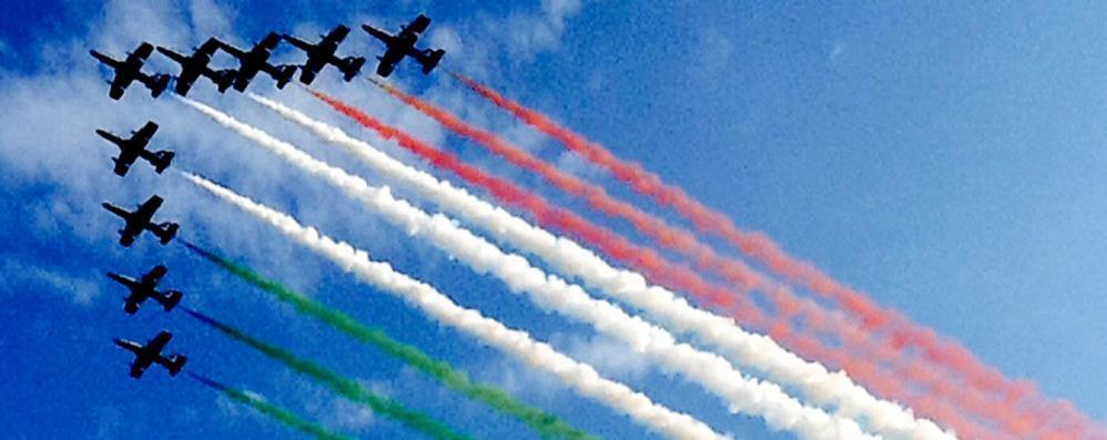 Lunedì alle 10.40 le Frecce Tricolori per rendere omaggio alle vittime del Covid-19